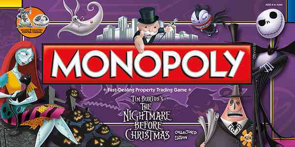 USAopoly Monopoly : the Nightmare Before Christmas Collector�s Edition By Usaopoly (COR) at Sears.com